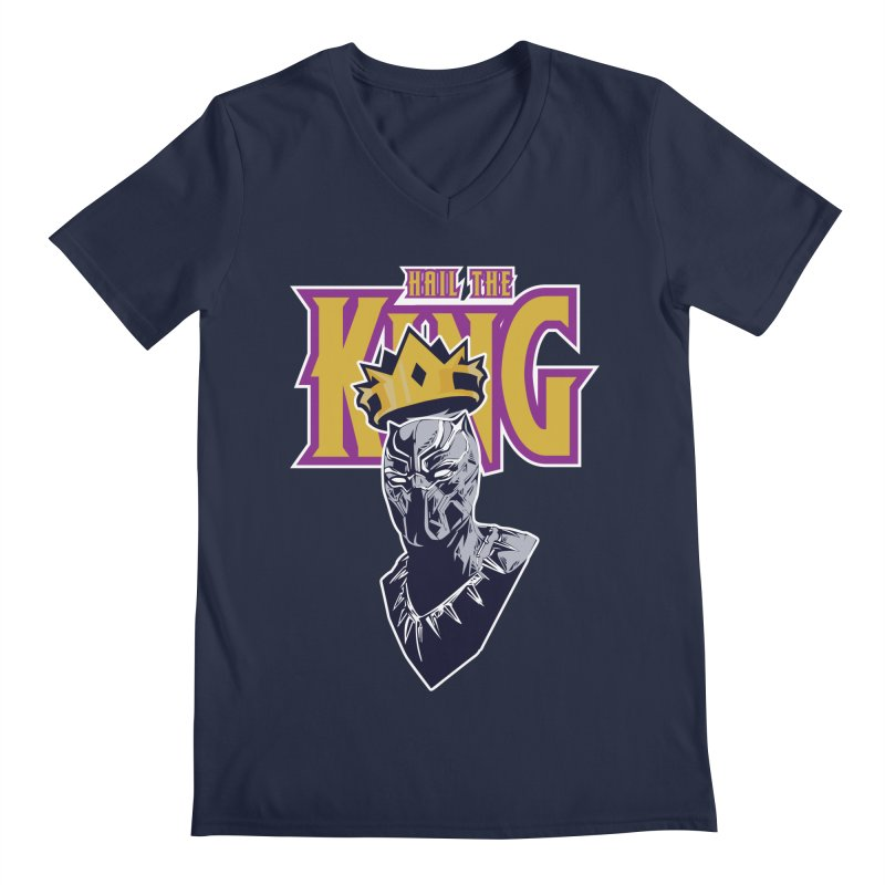 HAIL THE KING Men's V-Neck by ALGS's Artist Shop