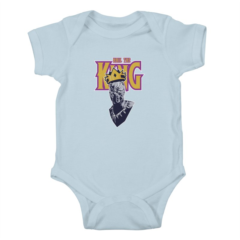 HAIL THE KING Kids Baby Bodysuit by ALGS's Artist Shop