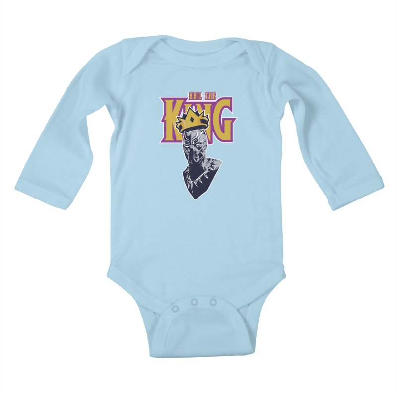 HAIL THE KING Kids Baby Longsleeve Bodysuit by ALGS's Artist Shop
