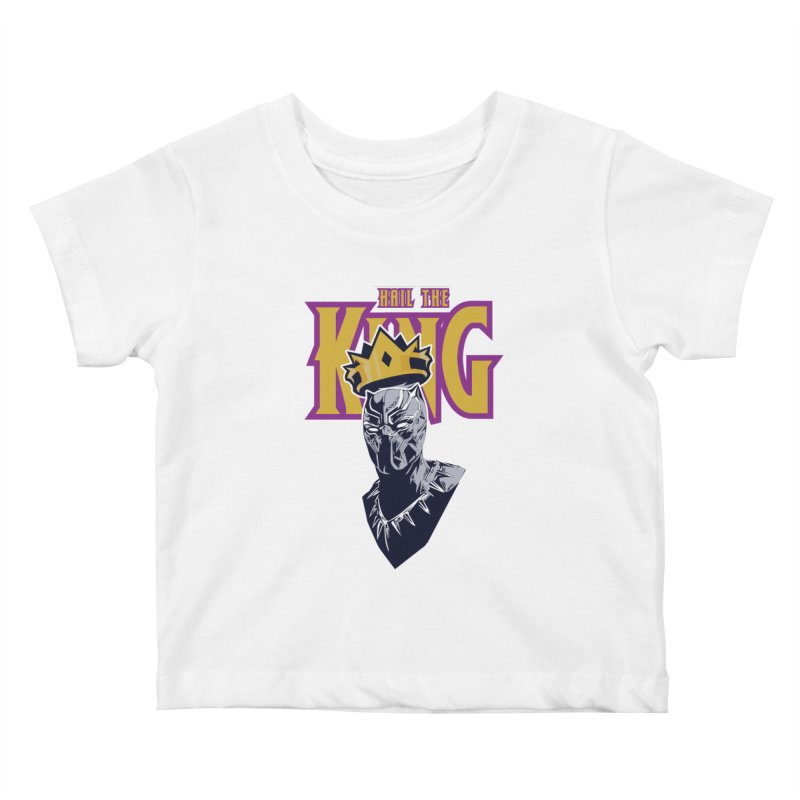 HAIL THE KING Kids Baby T-Shirt by ALGS's Artist Shop