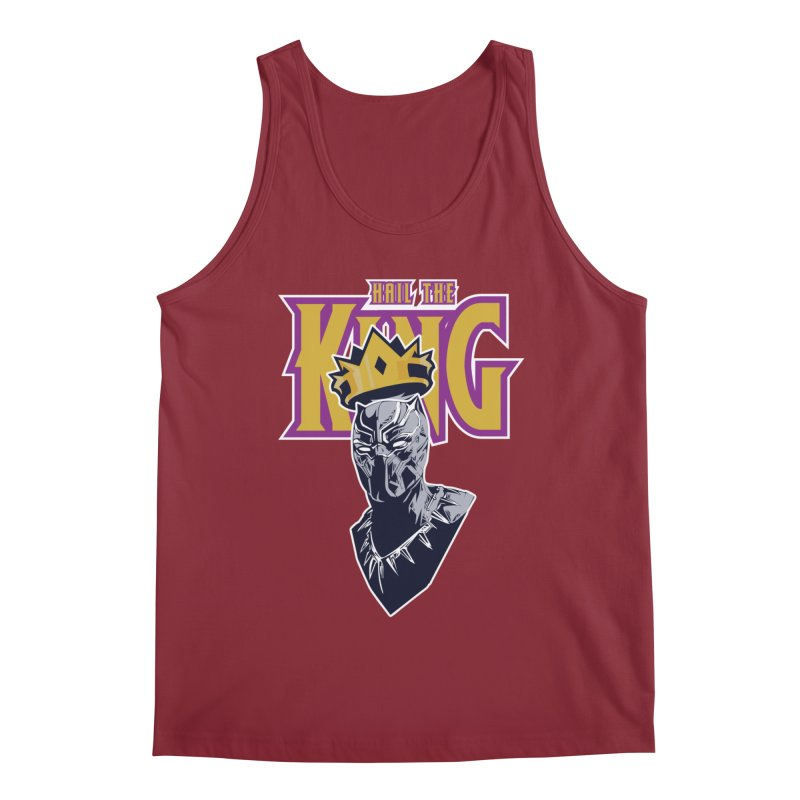 HAIL THE KING Men's Tank by ALGS's Artist Shop
