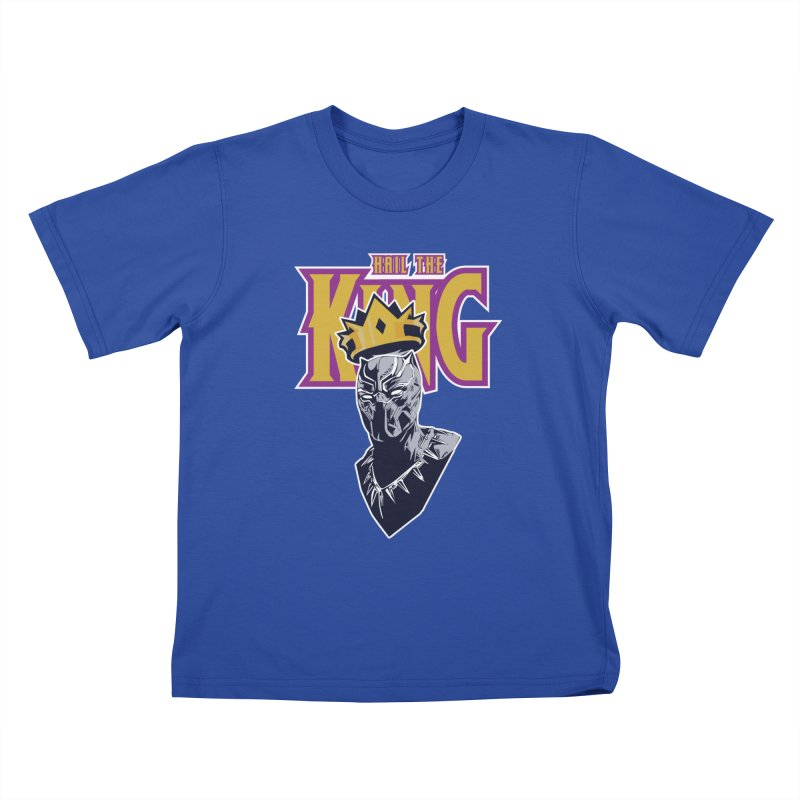 HAIL THE KING Kids T-Shirt by ALGS's Artist Shop