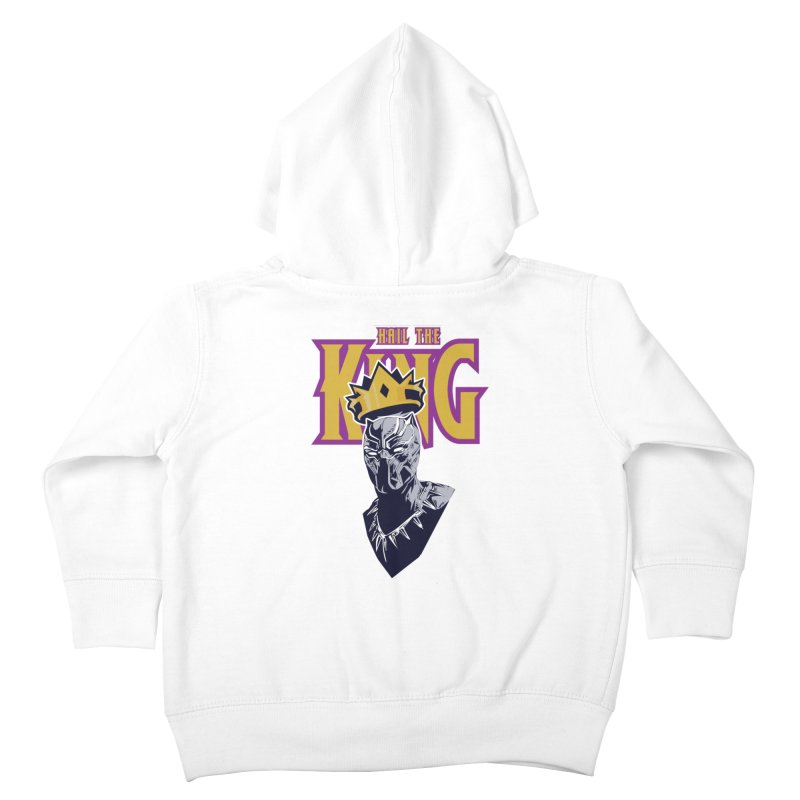 HAIL THE KING Kids Toddler Zip-Up Hoody by ALGS's Artist Shop