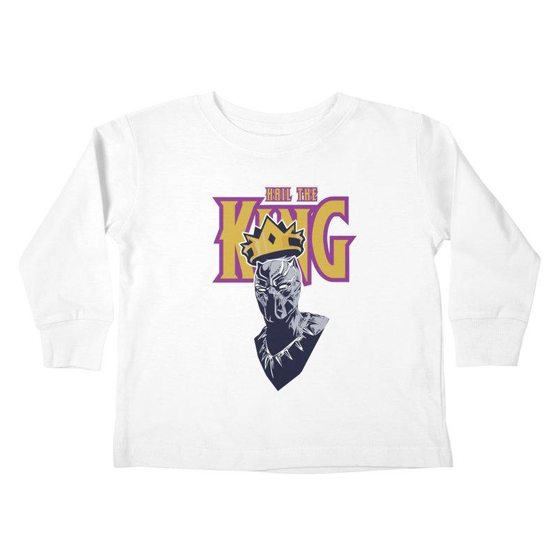 HAIL THE KING Kids Toddler Longsleeve T-Shirt by ALGS's Artist Shop