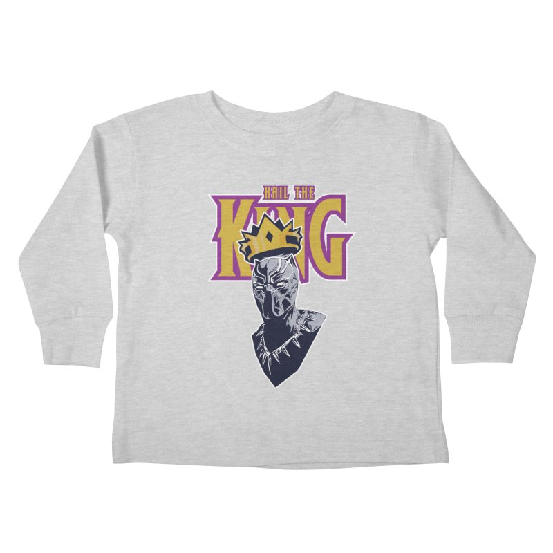 HAIL THE KING Kids Toddler Longsleeve T-Shirt by ALGS's Artist Shop