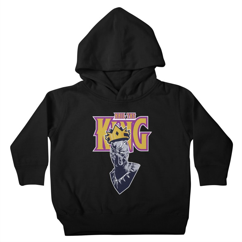 HAIL THE KING Kids Toddler Pullover Hoody by ALGS's Artist Shop