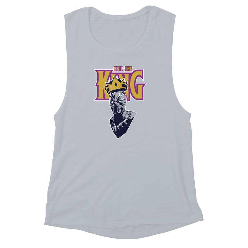 HAIL THE KING Women's Muscle Tank by ALGS's Artist Shop
