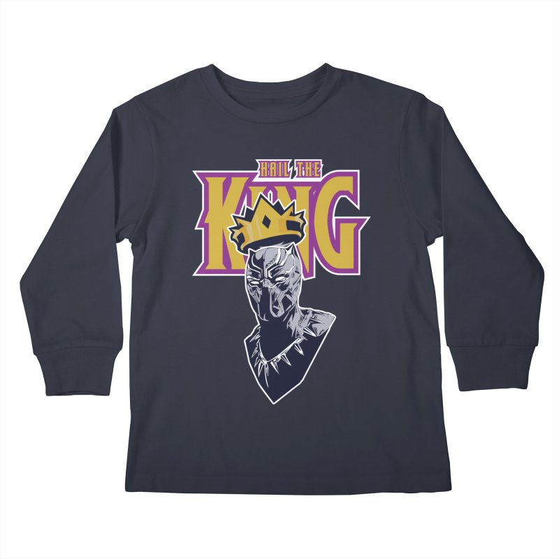 HAIL THE KING Kids Longsleeve T-Shirt by ALGS's Artist Shop