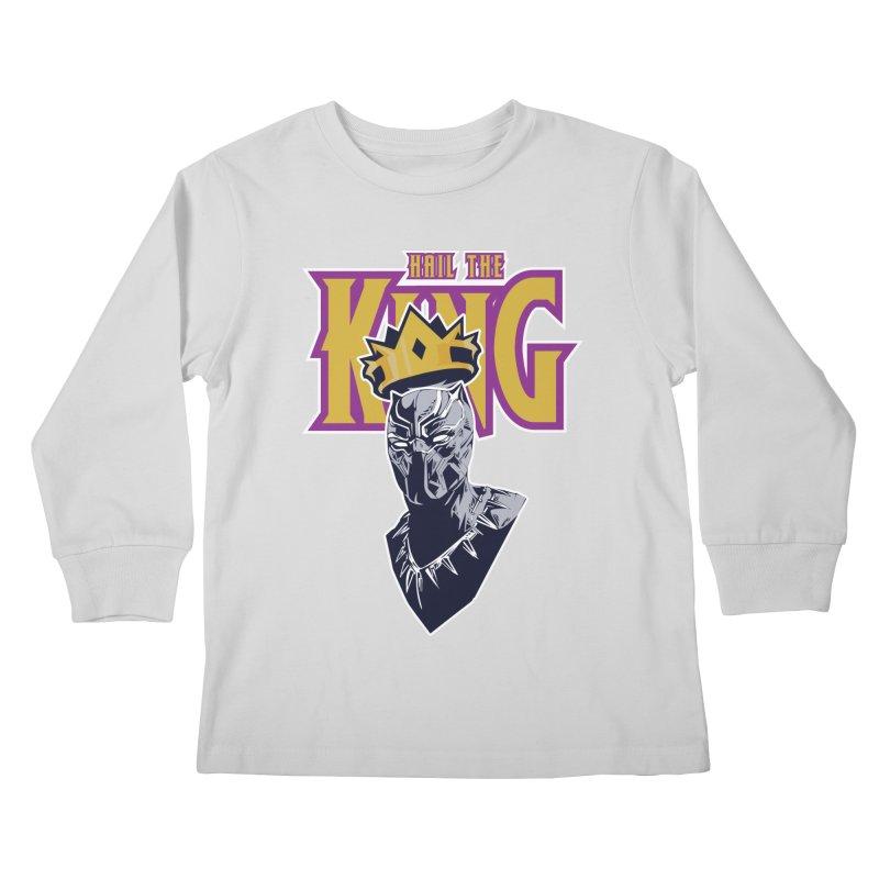 HAIL THE KING Kids Longsleeve T-Shirt by ALGS's Artist Shop