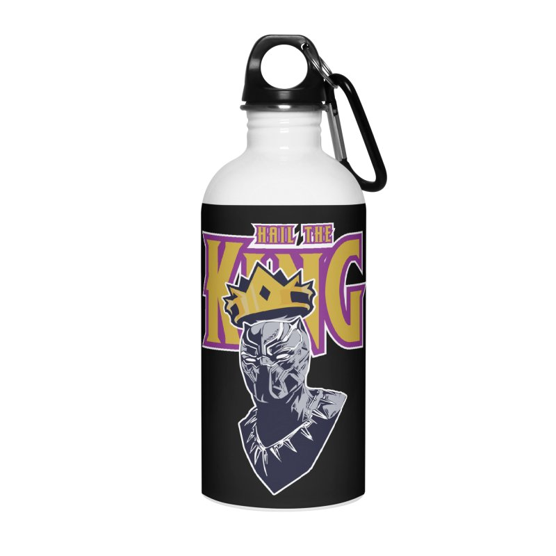 HAIL THE KING Accessories Water Bottle by ALGS's Artist Shop