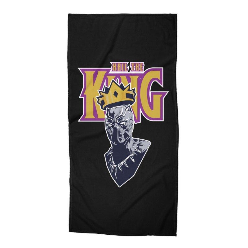 HAIL THE KING Accessories Beach Towel by ALGS's Artist Shop