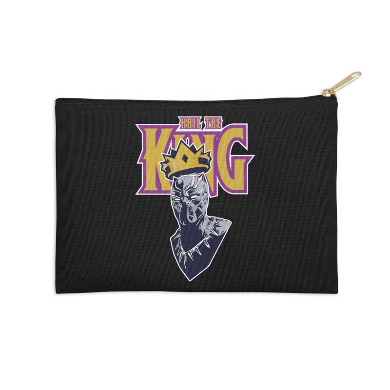 HAIL THE KING Accessories Zip Pouch by ALGS's Artist Shop
