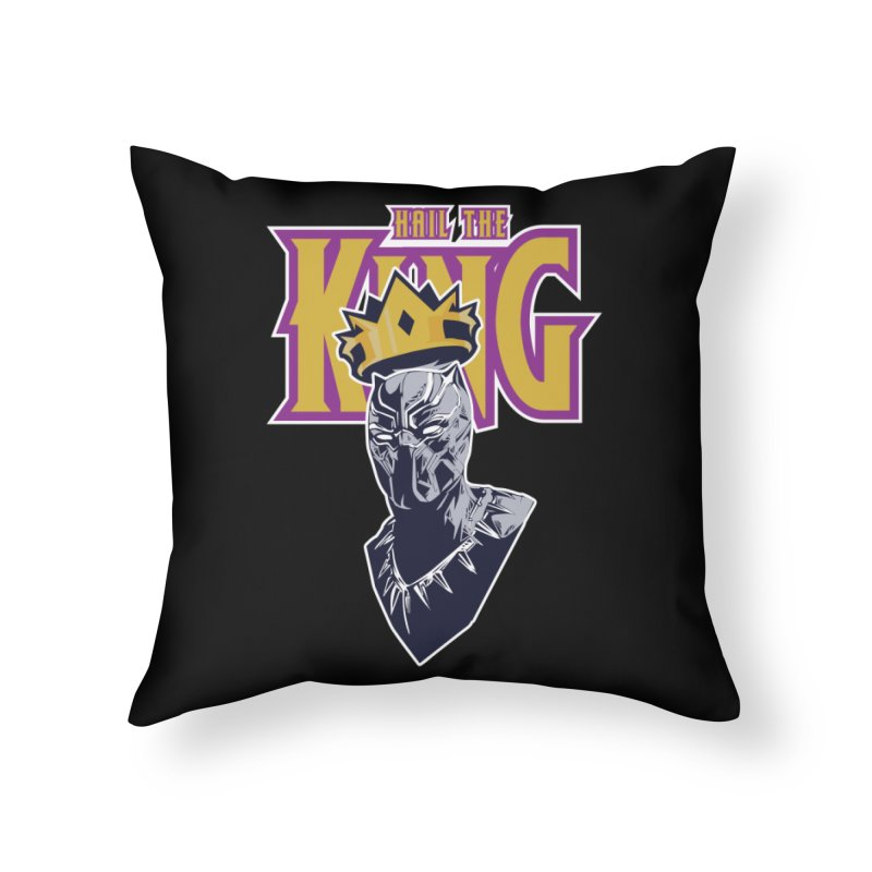 HAIL THE KING Home Throw Pillow by ALGS's Artist Shop