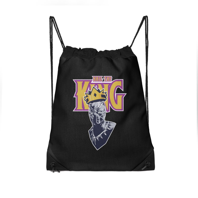 HAIL THE KING Accessories Drawstring Bag Bag by ALGS's Artist Shop