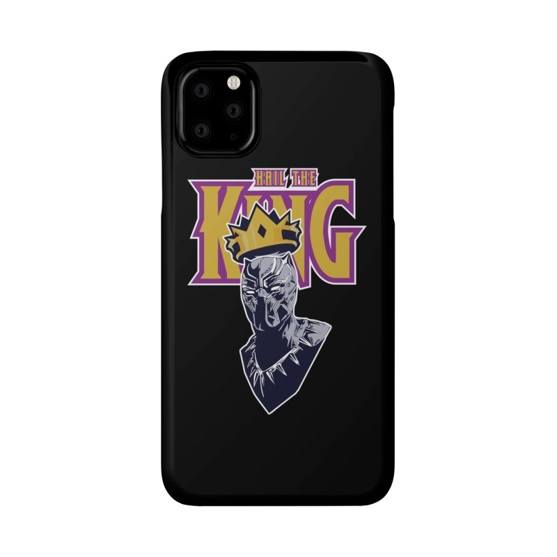 HAIL THE KING Accessories Phone Case by ALGS's Artist Shop