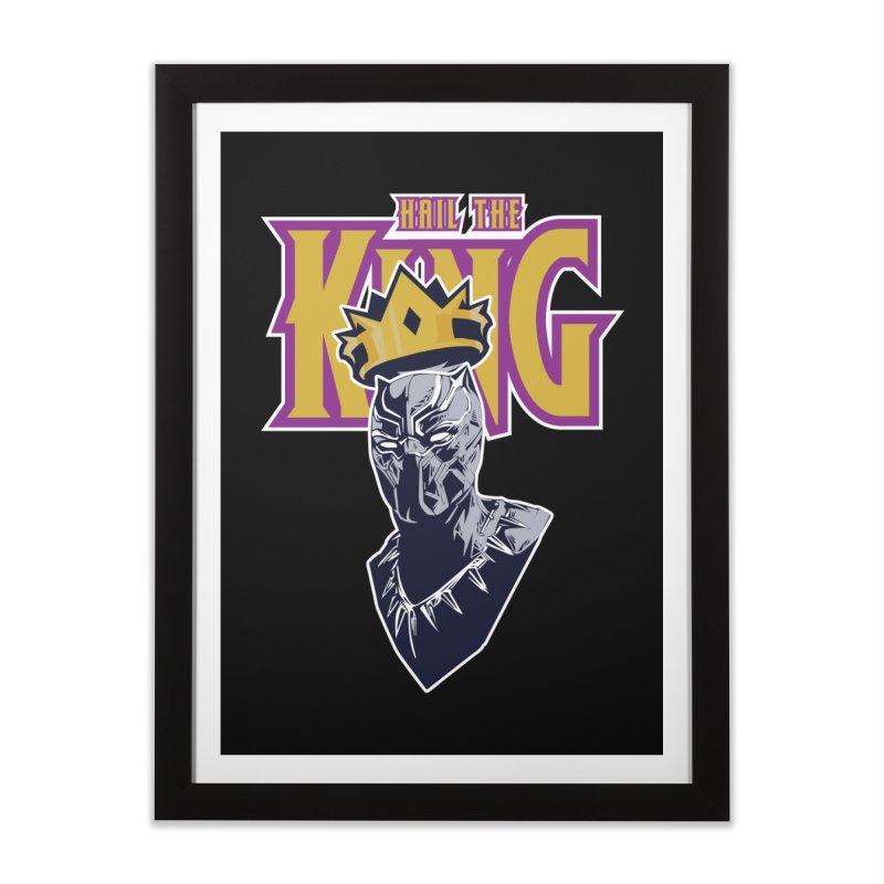 HAIL THE KING Home Framed Fine Art Print by ALGS's Artist Shop