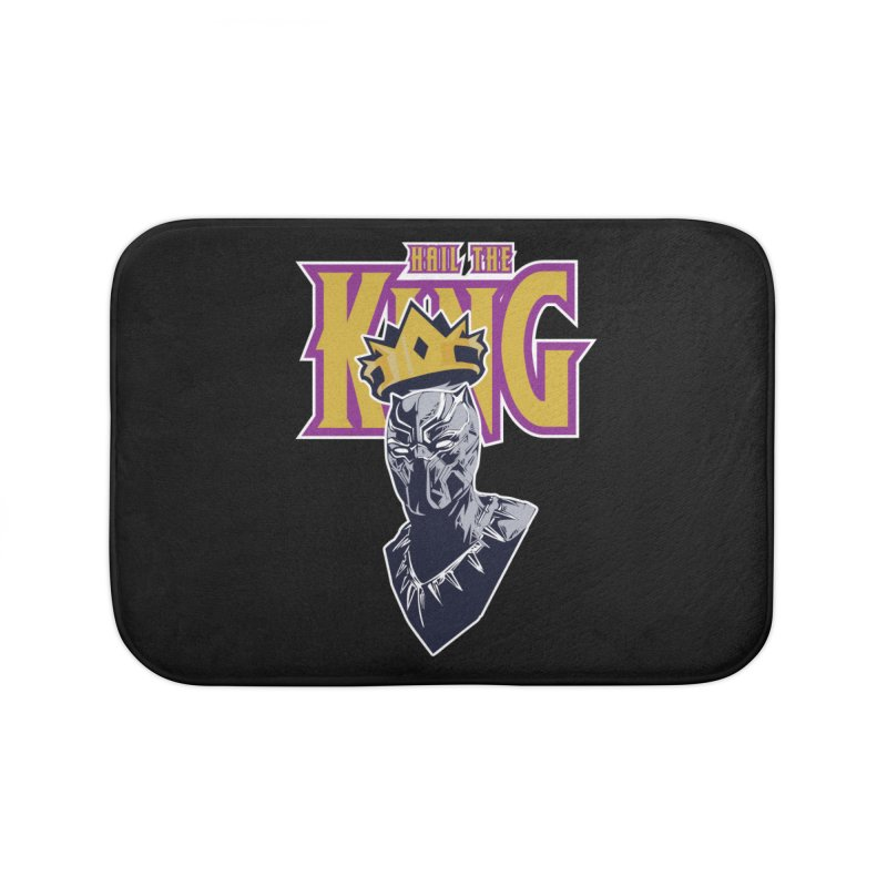 HAIL THE KING Home Bath Mat by ALGS's Artist Shop