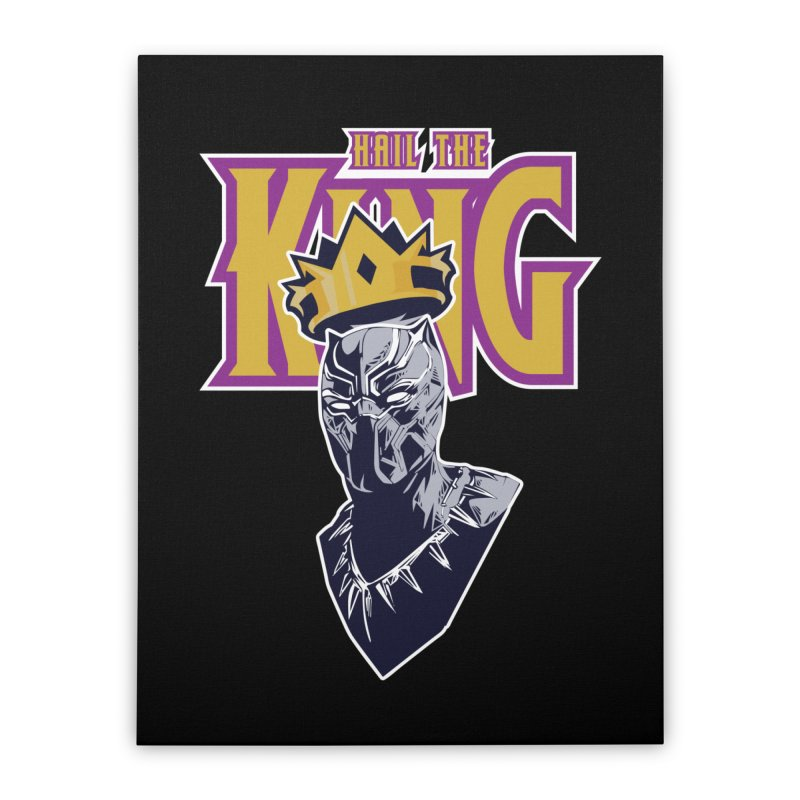 HAIL THE KING Home Stretched Canvas by ALGS's Artist Shop