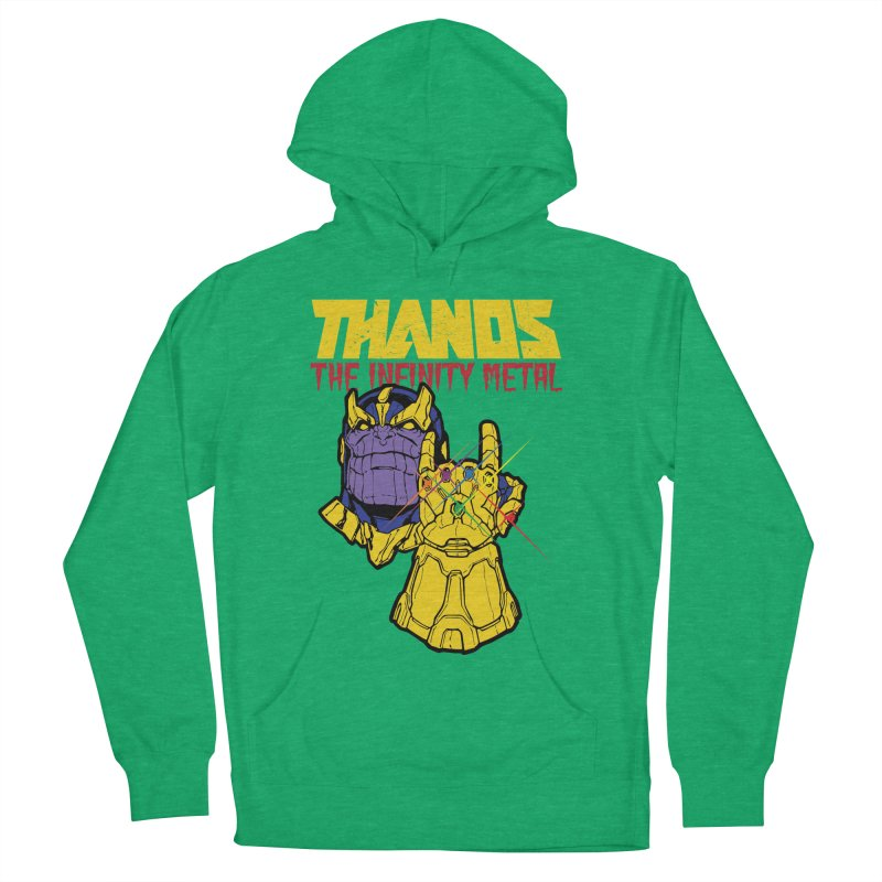 THANOS METAL Women's Pullover Hoody by ALGS's Artist Shop