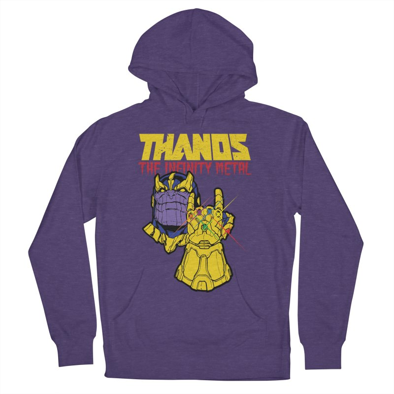 THANOS METAL Women's French Terry Pullover Hoody by ALGS's Artist Shop