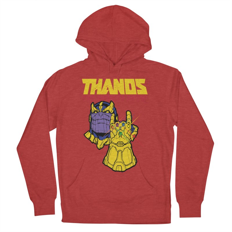 THANOS METAL Men's French Terry Pullover Hoody by ALGS's Artist Shop