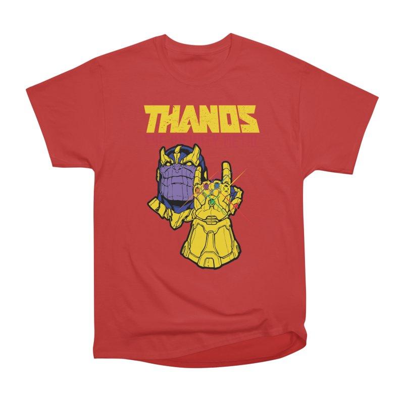 THANOS METAL Women's Classic Unisex T-Shirt by ALGS's Artist Shop