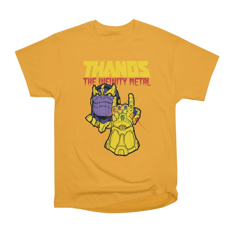 THANOS METAL Women's Heavyweight Unisex T-Shirt by ALGS's Artist Shop