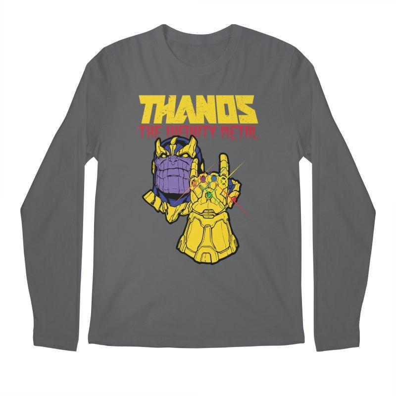 THANOS METAL Men's Regular Longsleeve T-Shirt by ALGS's Artist Shop