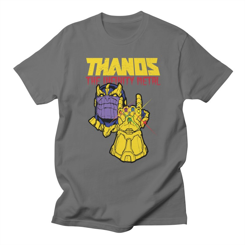 THANOS METAL Men's T-Shirt by ALGS's Artist Shop
