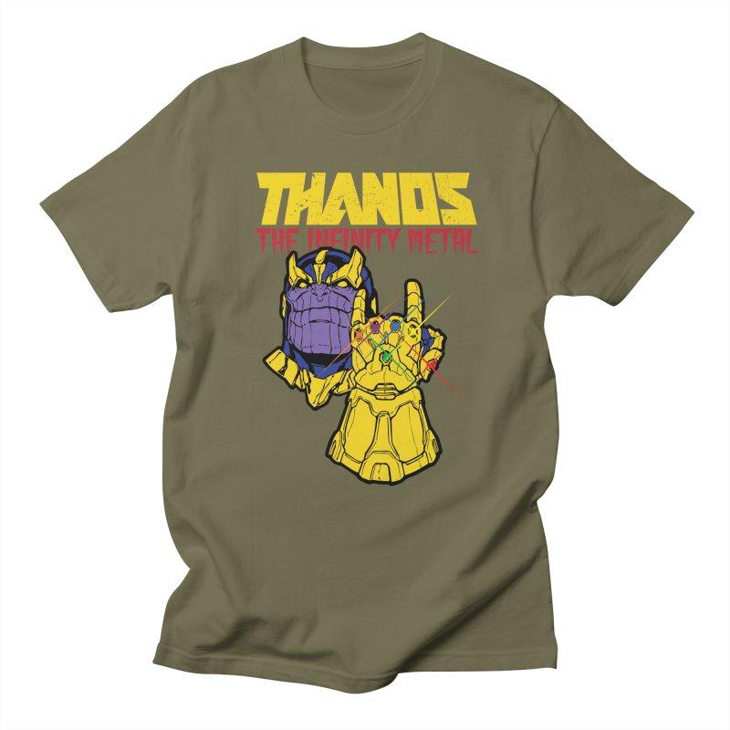 THANOS METAL Men's Regular T-Shirt by ALGS's Artist Shop