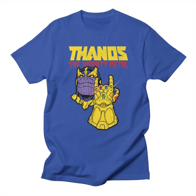 THANOS METAL Women's Unisex T-Shirt by ALGS's Artist Shop