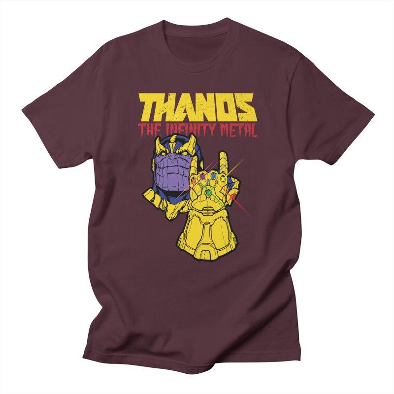THANOS METAL Women's Regular Unisex T-Shirt by ALGS's Artist Shop