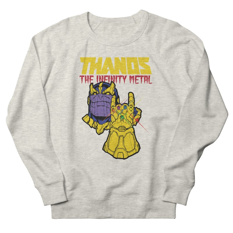 THANOS METAL Women's French Terry Sweatshirt by ALGS's Artist Shop