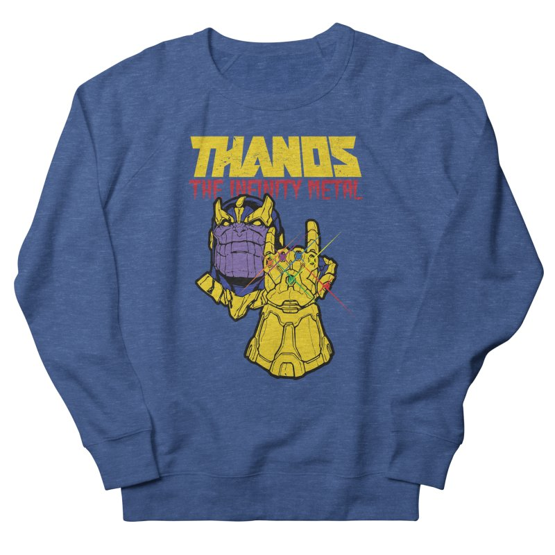 THANOS METAL Men's French Terry Sweatshirt by ALGS's Artist Shop