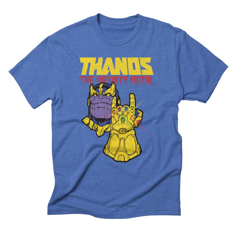 THANOS METAL Men's Triblend T-Shirt by ALGS's Artist Shop