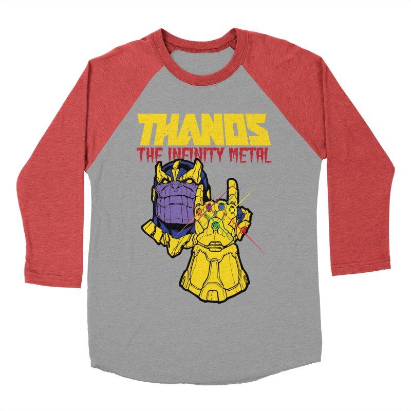 THANOS METAL Men's Baseball Triblend Longsleeve T-Shirt by ALGS's Artist Shop