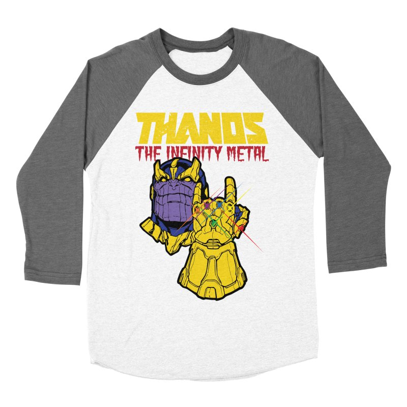 THANOS METAL Men's Baseball Triblend Longsleeve T-Shirt by ALGS's Artist Shop