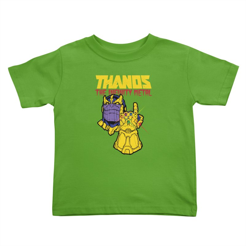 THANOS METAL Kids Toddler T-Shirt by ALGS's Artist Shop