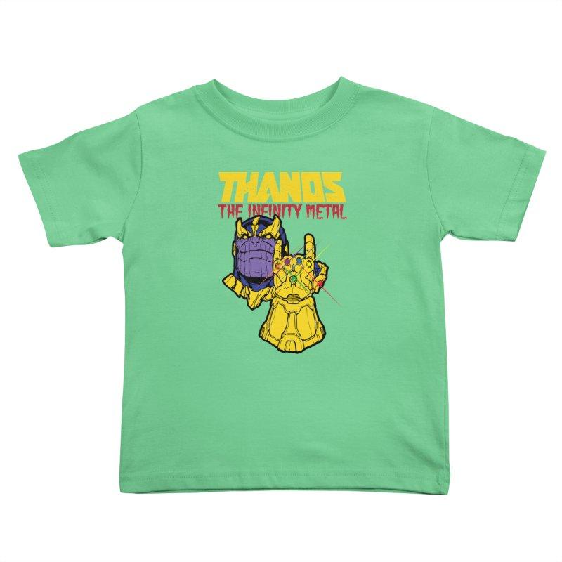 THANOS METAL Kids Toddler T-Shirt by ALGS's Artist Shop