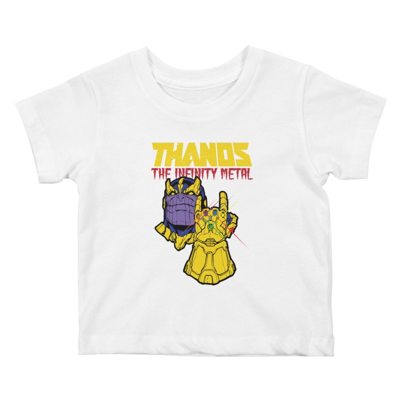 THANOS METAL Kids Baby T-Shirt by ALGS's Artist Shop