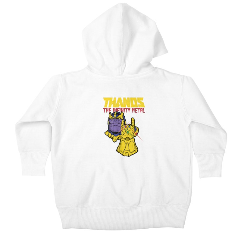 THANOS METAL Kids Baby Zip-Up Hoody by ALGS's Artist Shop