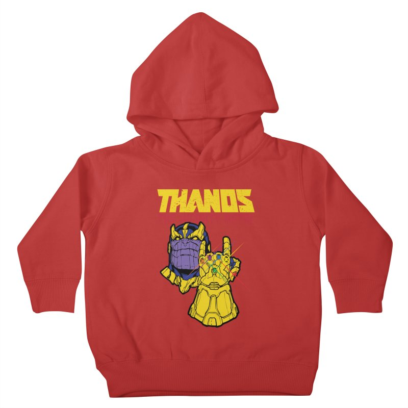 THANOS METAL Kids Toddler Pullover Hoody by ALGS's Artist Shop