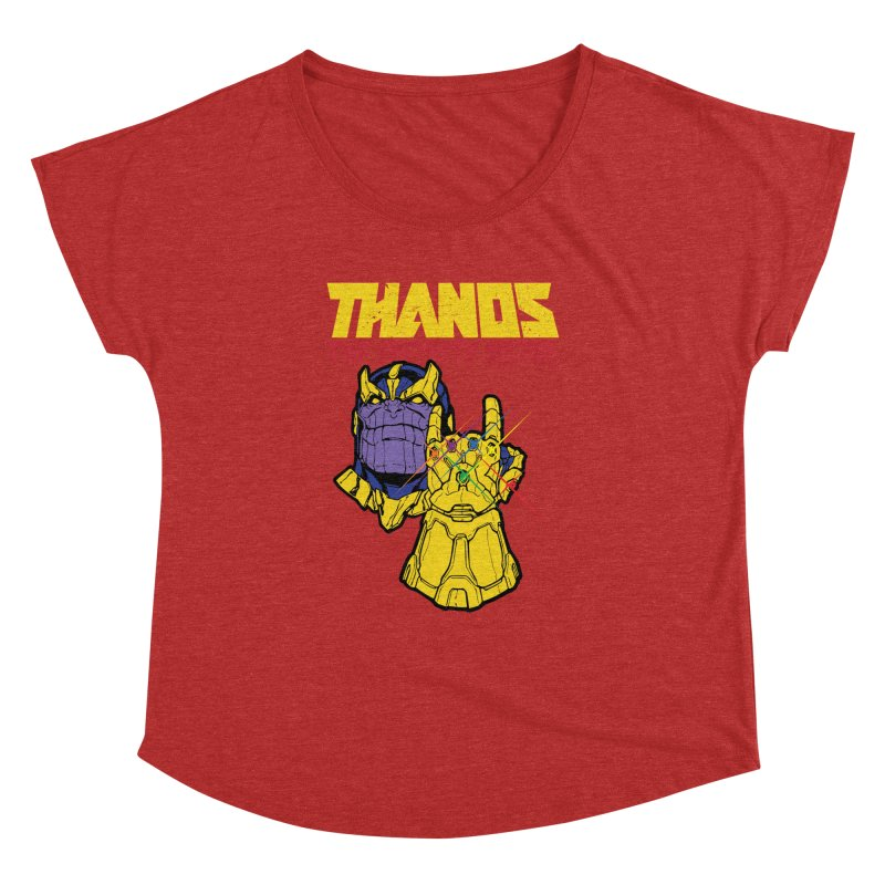 THANOS METAL Women's Dolman Scoop Neck by ALGS's Artist Shop