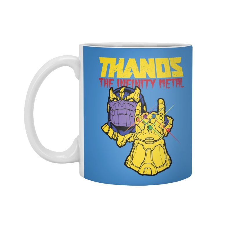 THANOS METAL Accessories Standard Mug by ALGS's Artist Shop