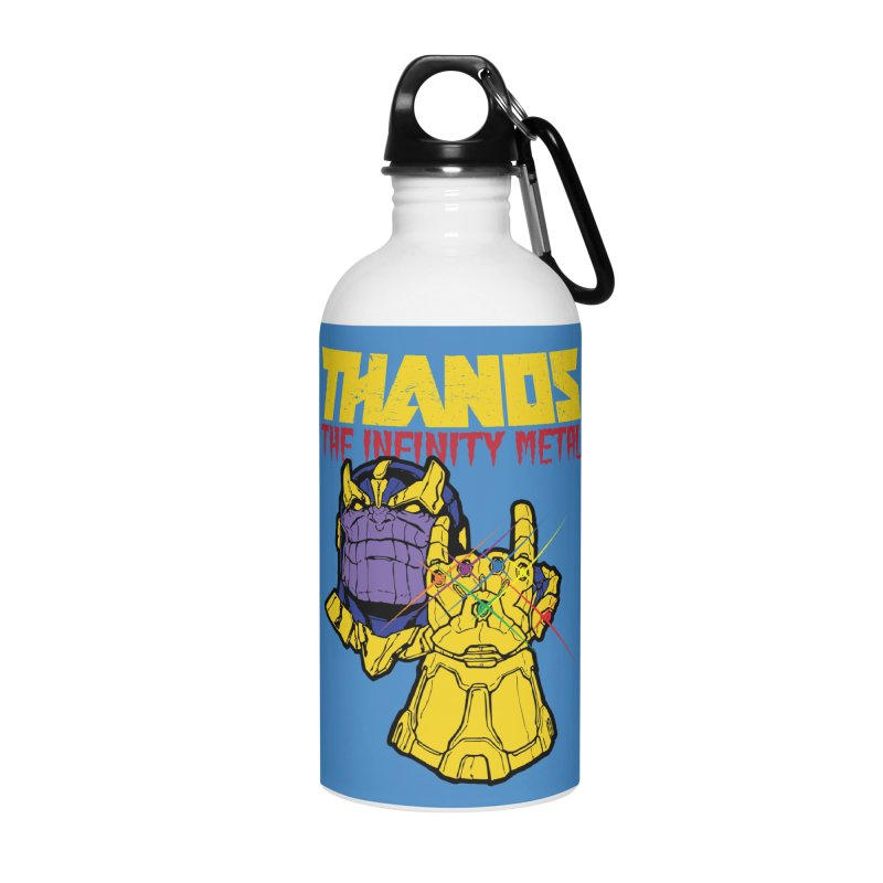 THANOS METAL Accessories Water Bottle by ALGS's Artist Shop