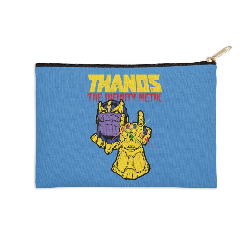 THANOS METAL Accessories Zip Pouch by ALGS's Artist Shop