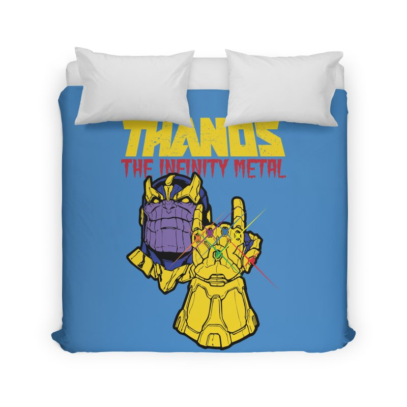 THANOS METAL Home Duvet by ALGS's Artist Shop