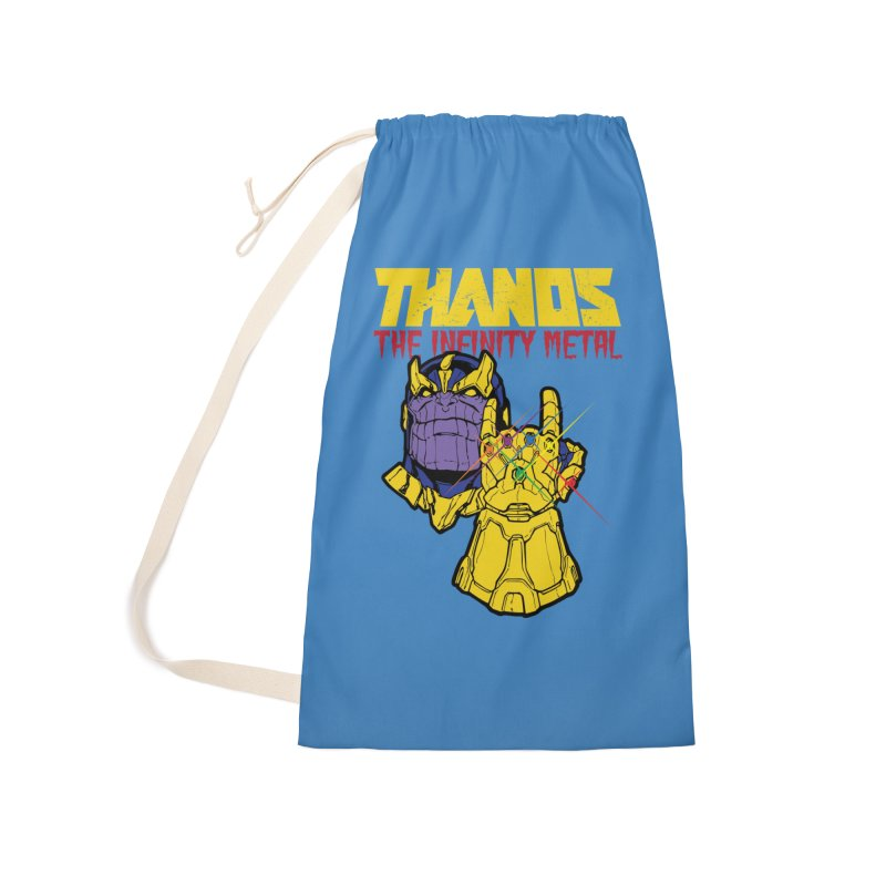 THANOS METAL Accessories Laundry Bag Bag by ALGS's Artist Shop