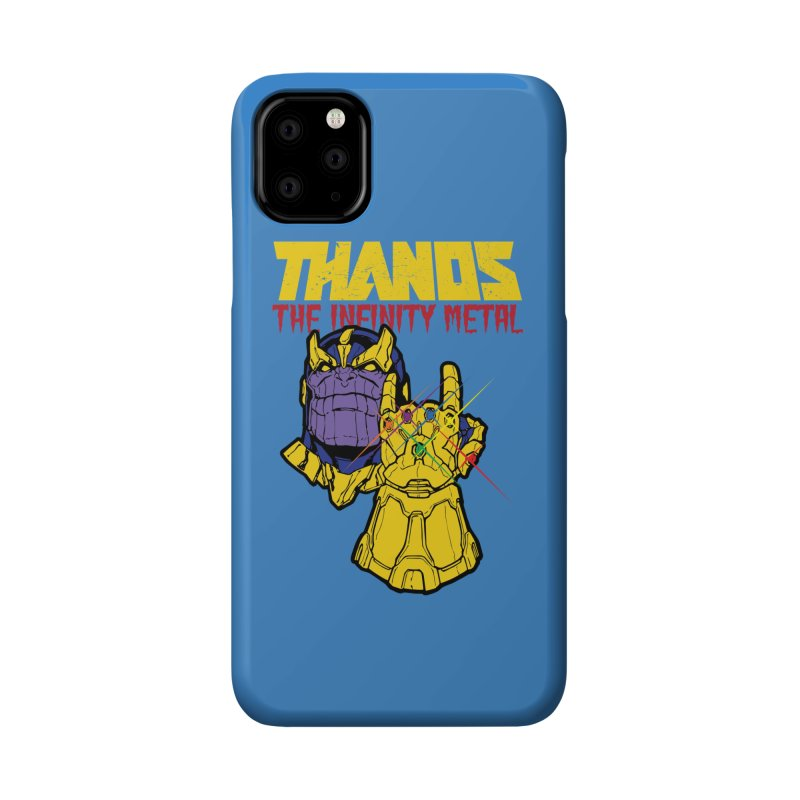 THANOS METAL Accessories Phone Case by ALGS's Artist Shop