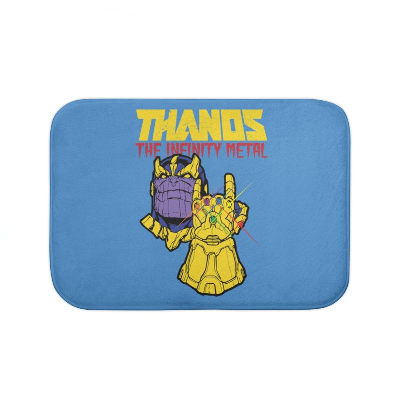 THANOS METAL Home Bath Mat by ALGS's Artist Shop